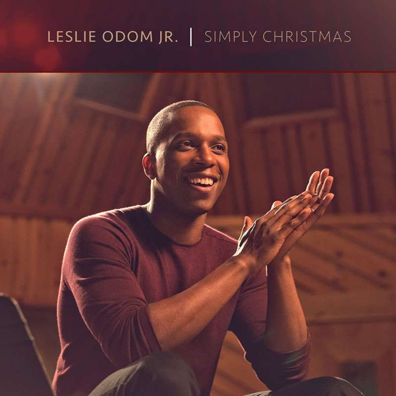 Cover for album Leslie Odom Jr. - Simply Christmas
