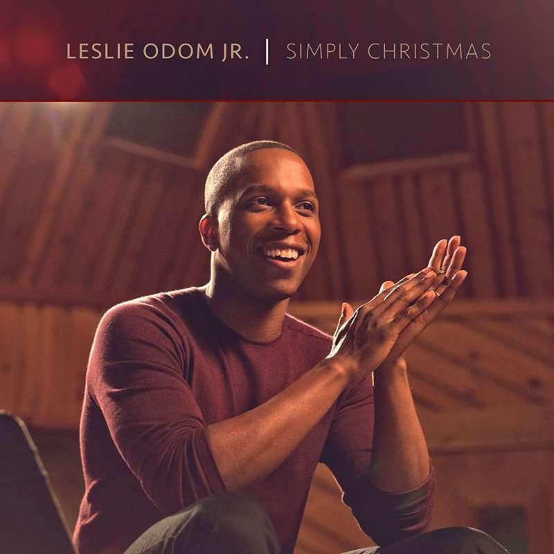 Cover for album Leslie Odom Jr. - Simply Christmas