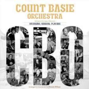 Cover for album The Count Basie Orchestra - Singing, Swinging, Playing