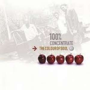 Cover for album The Colour of Soul - 100% Concentrate
