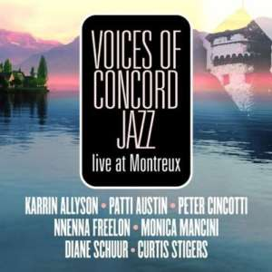 Cover for album Various Artists - Voices of Concord Jazz
