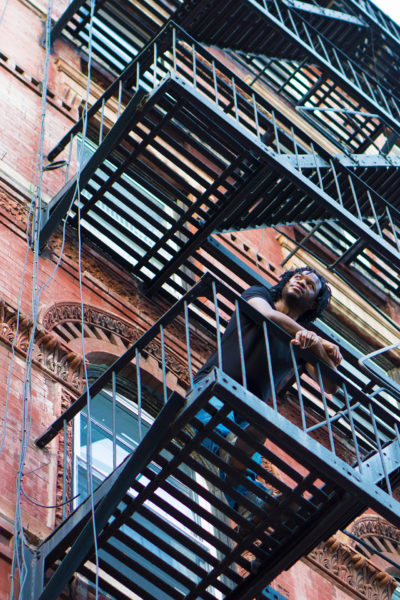 Mark McLean - Fire escape (NYC)