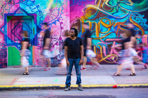 Mark McLean - Graffiti Wall (NYC)